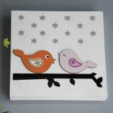 Естественное украшение стены переклейки для малышей с конструкцией сыча