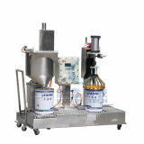 Liquid automatico Filling Machine con Rolling Conveyor