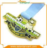 Medaglia personalizzata del metallo di disegno con argento placcato
