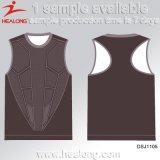 Healong personalizou a veste feita sob encomenda do Sublimation da tintura do desenhador
