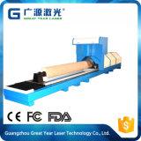 Máquina de papel cortando hidráulica do laser da imprensa