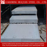 Großhandelsflußstahl-Checkered Platte verwendet für Gebäude