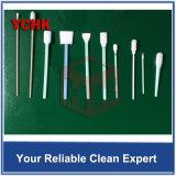 De vlakke ESD van de Peddel Polyester Getipte Cleanroom Schoonmakende Zwabbers van de Sensor van de Polyester DSLR