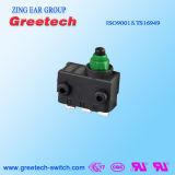 Subminiature Verzegelde Waterdichte Micro- die Schakelaar in Auto en Speelgoed wordt gebruikt