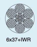 Веревочка стального провода 6X37+Sc Ungalvanized