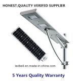 Im FreienIP65 60W alle in einem integrierten LED-Solarstraßenlaternemit Photozelle