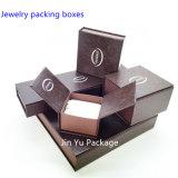 Rectángulo de empaquetado de la impresión del diseño del regalo de la joyería única de encargo popular del papel