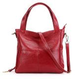 Sacchetto di mano della spalla della signora cuoio genuino delle borse di modo di marca dell'OEM