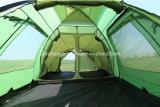 Tenda esterna d'profilatura di viaggio della tenda della famiglia delle 6 persone