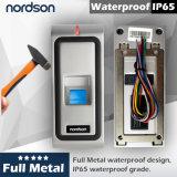 Control de acceso impermeable de la huella digital del metal lleno Fr-W1