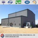 Высокий подъем обрабатывая промышленную фабрику с стальной структурой