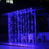 Licht van Kerstmis van de Decoratie van de openlucht LEIDENE 6*3meter 600 Fee van het Gordijn het Lichte