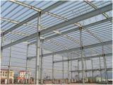 Estructura de acero ligera moderna para el edificio del taller de la fábrica