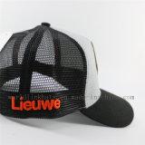 Tampão/chapéu feitos sob encomenda do camionista do engranzamento de Jersey com correções de programa de couro