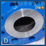 Vávula de bola de flotación de Wcb del acero de molde del estruendo de la prueba Pn100 de Didtek el 100%