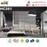 イタリアの現代家具のセットされる赤い本革のソファー(HC216)