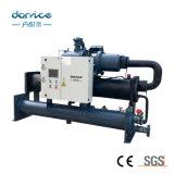 refrigerador de refrigeração água do parafuso do controle do PLC de 50ton Siemens