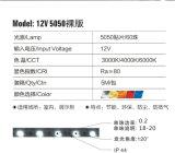 Luz de tira flexível impermeável do diodo emissor de luz de 5050 SMD