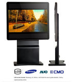 monitor múltiplo do quiosque da tela de toque do carrinho do assoalho 32inch