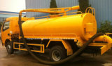 바퀴 Dongfeng 6개의 5500 담가 판매를 위한 찌끼 흡입 유조 트럭