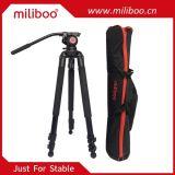 Тренога Miliboo Mtt701A портативная алюминиевая для профессиональной стойки камкордера/видео- Camera/DSLR треноги, с гидровлической щариковой головкой