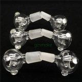 Tubo de agua de cristal de la cachimba de cristal del tubo que fuma tazón de fuente masculino/femenino de 14mm/18m m para los tubos que fuman de cristal