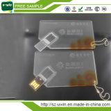 Clé de mémoire USB par la carte de crédit d'USB/avec l'impression de photo de propriétaire