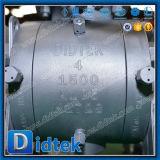 Valvola a sfera 1500 ad alta pressione del codice categoria del gambo della prova dello scoppio di Didtek