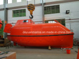 Bote de salvamento rápido del SOLAS con el solo pescante del brazo