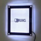 Marco magnético delgado del LED que hace publicidad de la visualización Lightboxes