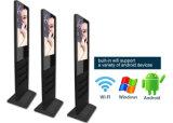 디지털 Displaytouchscreen 모니터 간이 건축물을 서 있는 21.5inch LCD 접촉 스크린 위원회 지면