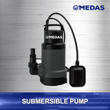 2/5 HP 3300 bomba sumergible limpia/sucia de Gph de agua incluye el interruptor de flotador para la operación automática con las conexiones adaptables del manguito