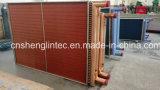 Edelstahl-Rahmen-Kupfer-Rohr-Kupfer-Flosse-Kondensator