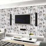 Ampliamente utilizado en el papel pintado lavable 3D del PVC del precio barato del papel de empapelar de la sala de estar
