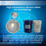 Borracha Líquida de Silicone para Prototipagem Transparente de Produtos de Silicone