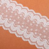 Tissu de dentelle en dentelle cordé en gros pour robe de mariée