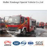 carro de bombeiros Euro3 da água de 6ton Isuzu Fvr