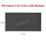 P6 farbenreiche hohe Innenpixel 64*32 der Definition-LED der Baugruppen-SMD RGB 384*192mm für Farbe LED die RGB-7, die Bildschirm-Panel bekanntmacht