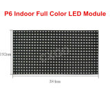 P6 스크린 위원회를 광고하는 RGB 7 색깔 LED를 위한 실내 풀 컬러 높은 정의 LED 모듈 SMD RGB 384*192mm 64*32 화소