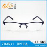 Leichter Halb-Randloser Titanbrille Eyewear optische Glas-Rahmen (8006)