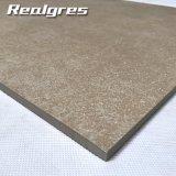 Hauptdekoration-beige Travertin glasig-glänzende rustikales Porzellan-zusammengesetzte Fußboden-Fliese