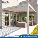 튼튼한 방수 미늘창 Pergola Sunshading 지붕 시스템