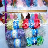 Нейлон полиэстер Красочные Ресницы пера Fancy Пряжа для шарфов