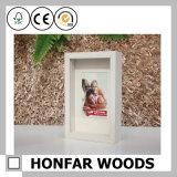 Intelaiatura a scatola di legno moderna dell'ombra del Brown della decorazione domestica