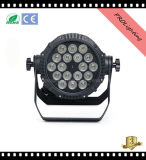 방수 18PCS 10W 5in1 LED Wallwash 동위 빛