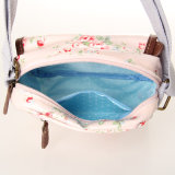 handbag (99072-1) 방수 백색 구름 패턴 PVC 화포 숙녀