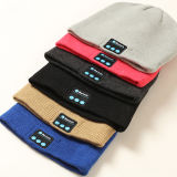 chapeaux sans fil de musique de l'hiver d'écouteurs de mode, chapeau lavable de Beanie de Bluetooth