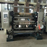 El PLC controla el PVC que raja y máquina el rebobinar con 200 M/Min