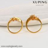 14113 de nieuwe Ring van de Juwelen van de Manier van de Aankomst 24k Gouden Bruids Vastgestelde met Zircon