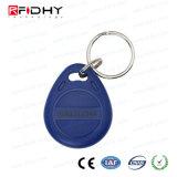 시간 출석과 접근 제한 Ntag213 아BS RFID Keyfob를 위해